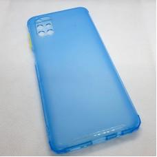 Силиконовый чехол для Samsung Galaxy M51 JFK голубой