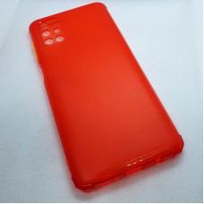 Силиконовый чехол для Samsung Galaxy M51 JFK красно-оранжевый