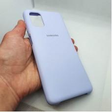 """Чехол  для Samsung Galaxy M51  """"Silicone Case"""", нежно-фиолетовый"""
