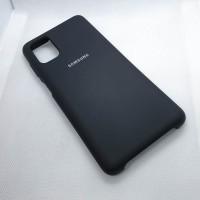 "Чехол  для Samsung Galaxy M51  ""Silicone Case"",черный"