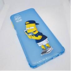 Силиконовый чехол для Samsung Galaxy M51 JFK Барт Симпсон с телефоном