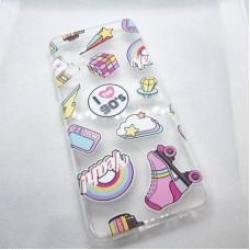 """Чехол накладка для Samsung Galaxy A32 с рисунком """"90ые"""""""