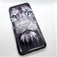 Чехол накладка для Xiaomi Redmi Note10s с рисунком лев