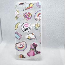 Чехол накладка для Xiaomi Redmi Note10s с рисунком 90ые