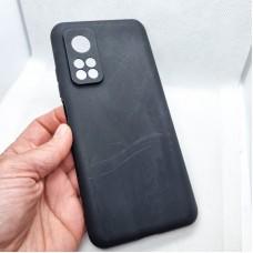 Силиконовый чехол EXPERTS для Xiaomi Mi 10T, черный