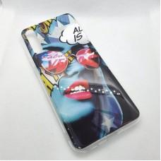 Чехол накладка для Huawei Y8P  с рисунком