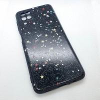 "Чехол накладка для Samsung Galaxy A12 с рисунком ""звезды"""