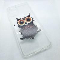 "Чехол накладка для Samsung Galaxy A12 с рисунком ""сова"""