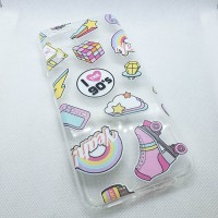 "Чехол накладка для Samsung Galaxy A12 с рисунком ""коньки"""