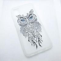 """Чехол накладка для Samsung Galaxy M21 с рисунком """"Сова"""""""