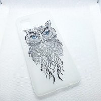 "Чехол накладка для Samsung Galaxy A31 с рисунком ""сова"""