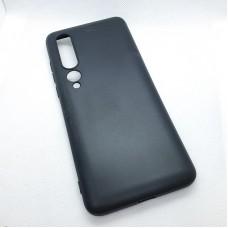 Силиконовый чехол EXPERTS для Xiaomi Mi 10, черный