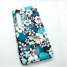 Чехол-накладка для Xiaomi Mi 10 Luxo цветы оригинал