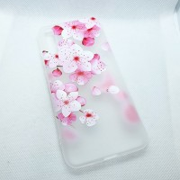 Чехол накладка для Huawei Y8P  с рисунком цветы
