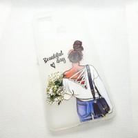 Силиконовый чехол-накладка для Samsung Galaxy A21s с рисунком beautiful day