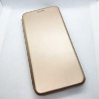 Чехол-книга для Samsung Galaxy A21s, золотой