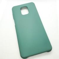 """Силиконовый чехол """"Silicone Case"""" для Xiaomi Redmi note 9s, зеленый"""