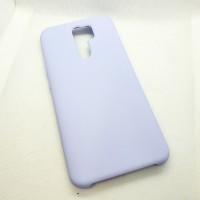 Чехол Silicone case для Xiaomi Redmi 9, лиловый