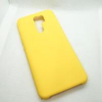 Чехол Silicone case для Xiaomi Redmi 9, желтый