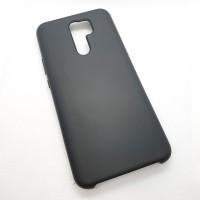 Чехол Silicone case для Xiaomi Redmi 9, черный