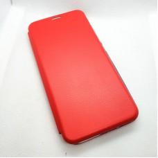 Чехол-книга EXPERTS для Xiaomi Mi 10 Lite, красный