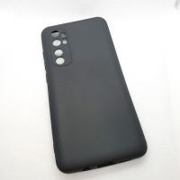 Силиконовый чехол EXPERTS для Xiaomi Mi Note 10 Lite, чёрный