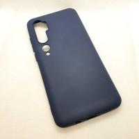 Чехол Silicone case для Xiaomi Mi Note 10 , графит