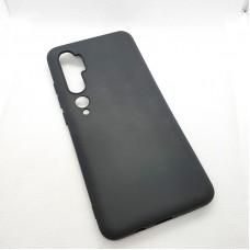 Силиконовый чехол EXPERTS для Xiaomi Mi Note 10 , чёрный