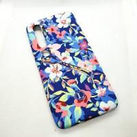 Силиконовый чехол для Xiaomi Mi Note 10  Luxo птица в цветах оригинал