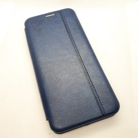 Чехол-книга EXPERTS для Xiaomi Mi Note 10 , темно-синий