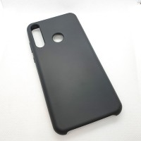 Чехол Silicone case для Huawei/Honor Y6p, черный