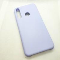 Чехол Silicone case для Huawei/Honor Y6p, сиреневый