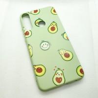 Чехол накладка для Huawei Y6P с рисунком авокадо