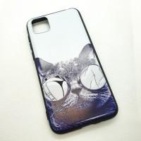 Чехол накладка для Huawei Y5P с рисунком кот