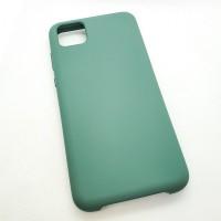 Чехол Silicone case для Huawei  Y5p, зеленый