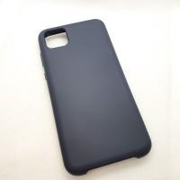 Чехол Silicone case для Huawei  Y5p, графит