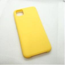 Чехол Silicone case для Huawei  Y5p, желтый
