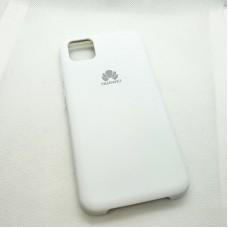 Чехол Silicone case для Huawei  Y5p, белый