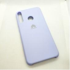 Чехол Silicone case для Huawei/Honor Y7p, сиреневый