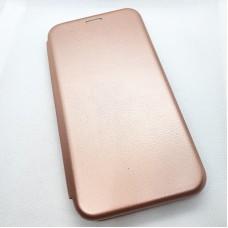 Чехол-книга EXPERTS для Huawei y7p, розовое золото