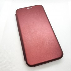 Чехол-книга EXPERTS для Huawei y7p, бордовый