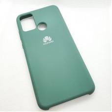 Чехол Silicone case для Huawei Honor 9A, зеленый