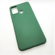 Чехол Silicone case для Huawei Honor 9A, зеленый травяной