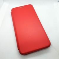 Чехол-книжка для Samsung Galaxy A12 без окна, красный