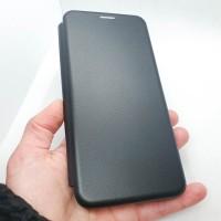Чехол-книжка для Samsung Galaxy A12 без окна, черный