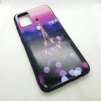 "Чехол накладка для Samsung Galaxy A02S с рисунком ""Eiffel tower """