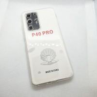 Силиконовый чехол EXPERTS для Huawei P40 Pro прозрачный