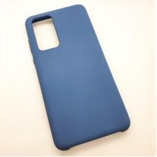 """Силиконовый чехол """"Silicone Case"""" для Huawei P40, синий"""