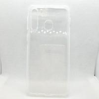 Силиконовый чехол EXPERTS для Samsung Galaxy A21 прозрачный