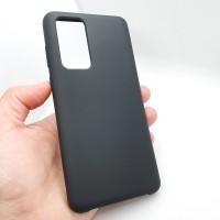 """Силиконовый чехол """"Silicone Case"""" для Huawei P40, черный"""
